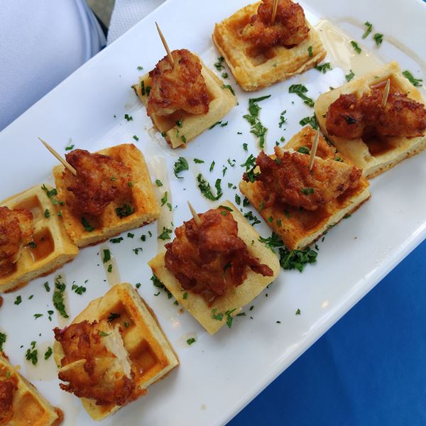 The Commons Party appetizers by Patz's Deli