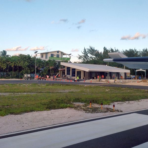 Belize Airline News New Caye Caulker Terminal