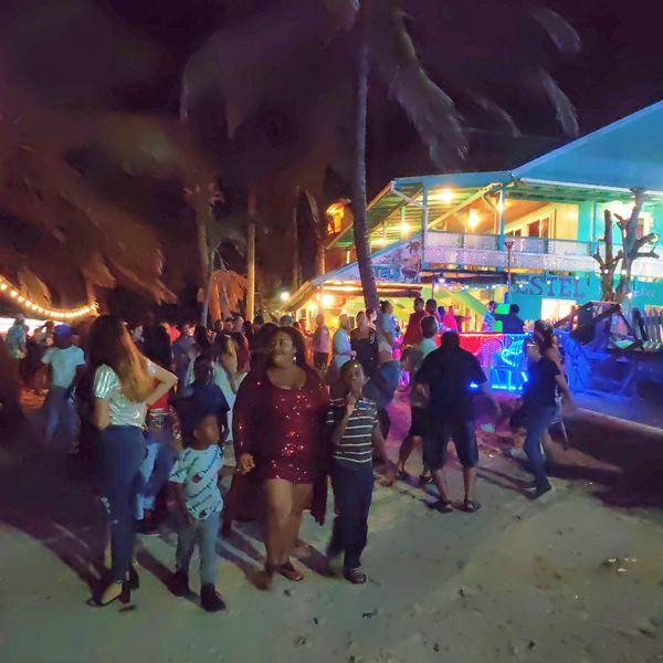 Popular Ambergris Caye Belize Beach