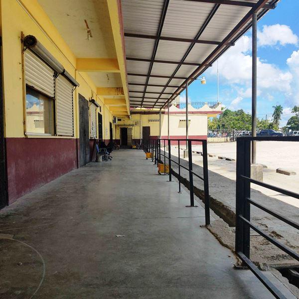 Belize bus terminal