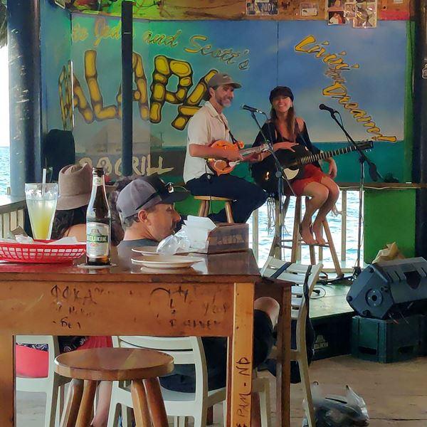 live music palapa bar belize
