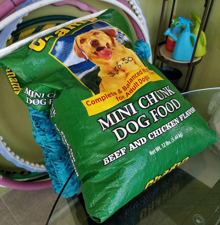 dog food humane society donation