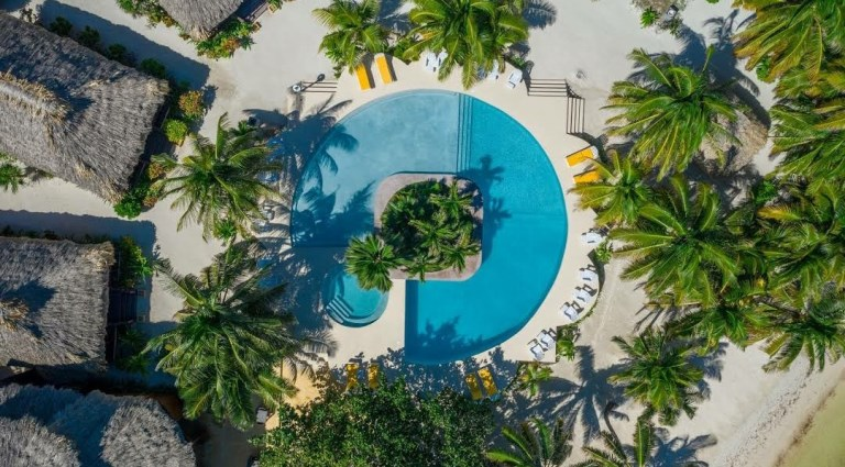 portofino beachfront resort north ambergris caye belize