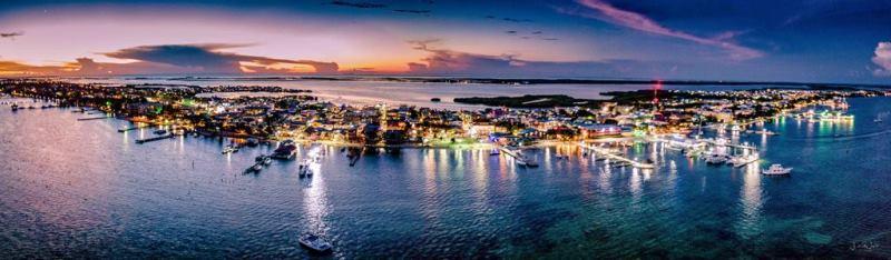 drone photography ambergris caye island