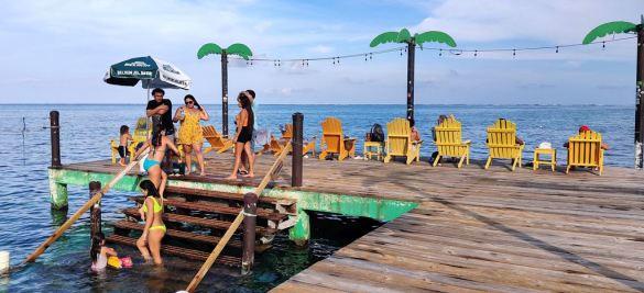san pedro belize beachbar