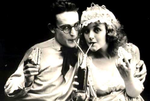 Harold Lloyd and Mildred Davis