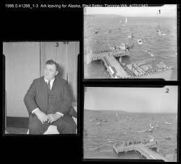 1986.5.41268_1-3 Ark leaving for Alaska, Paul Satko, Tacoma WA, 4/22/1940