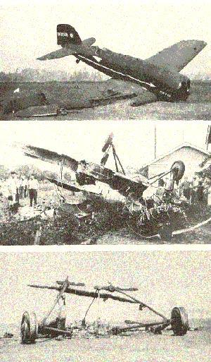 Wrecks of 1,2 & 3