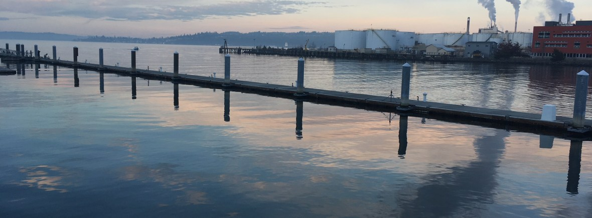 Foss waterway sunset for Youth Story Contest