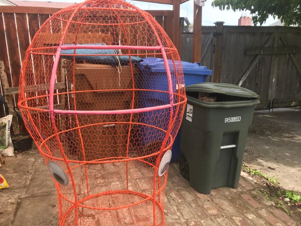 trashoctopus with bins