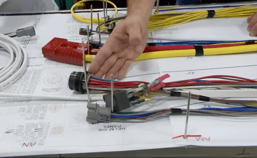 small resolution of factory wire harness