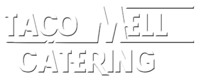 Taco Mell Catering Text Logo