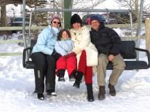 Post skiing memories