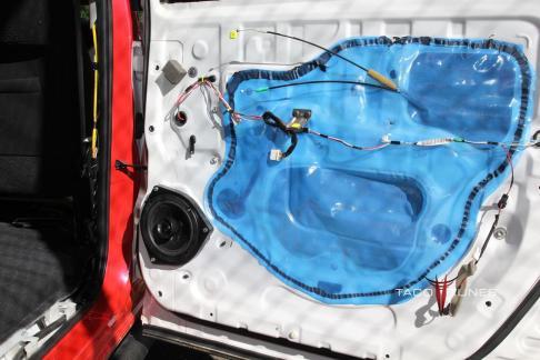Toyota Camry Rear Wall Matting sound deadner