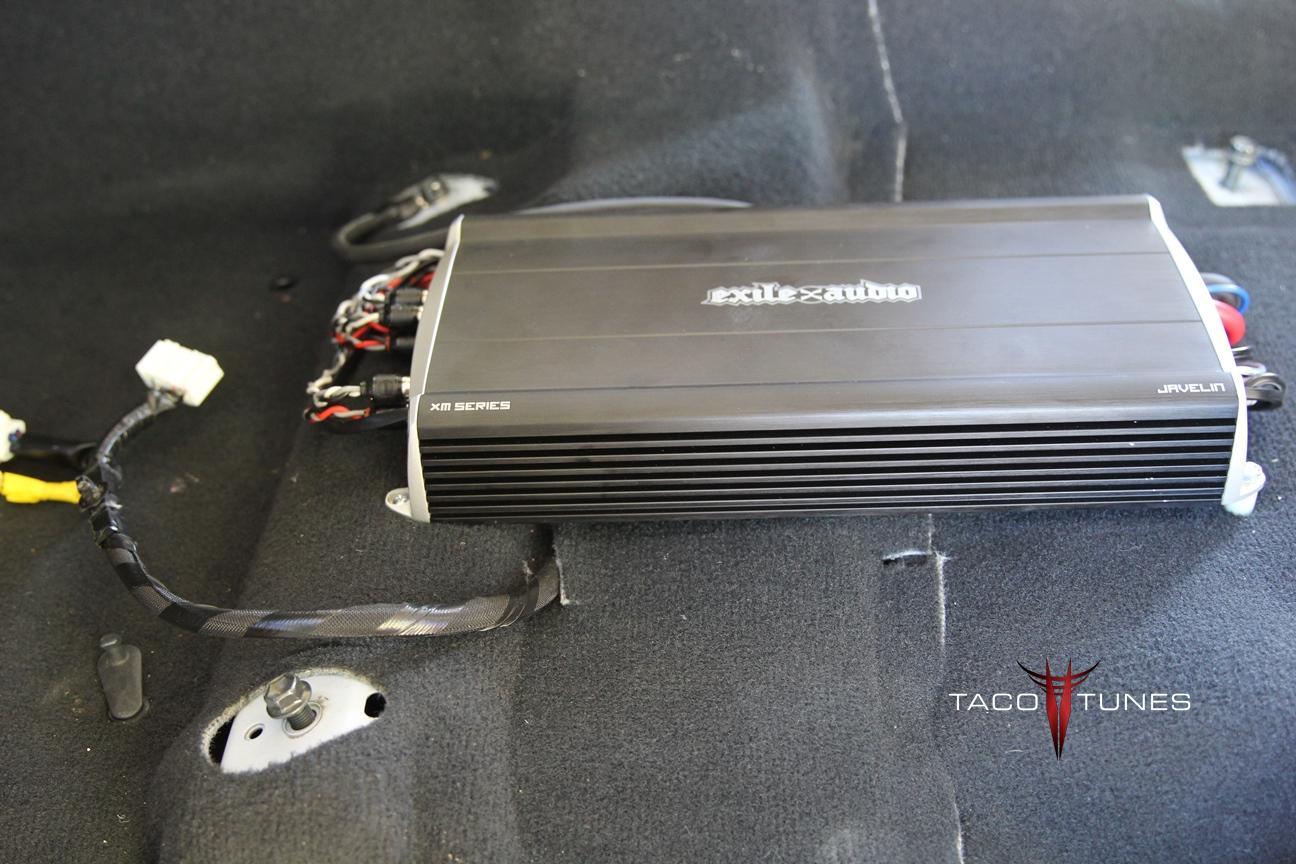 marine amplifier wiring kit goldwing trailer diagram exile javelin 5 channel grade
