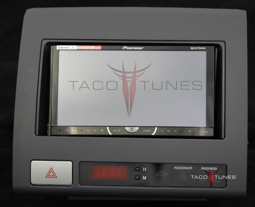 medium resolution of toyota tacoma black 2005 dash stereo installation kit