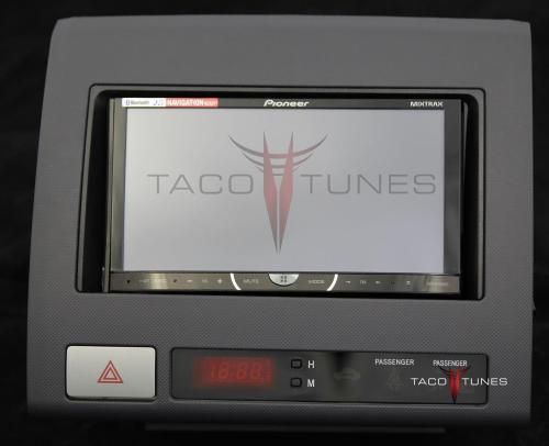 small resolution of toyota tacoma black 2005 dash stereo installation kit