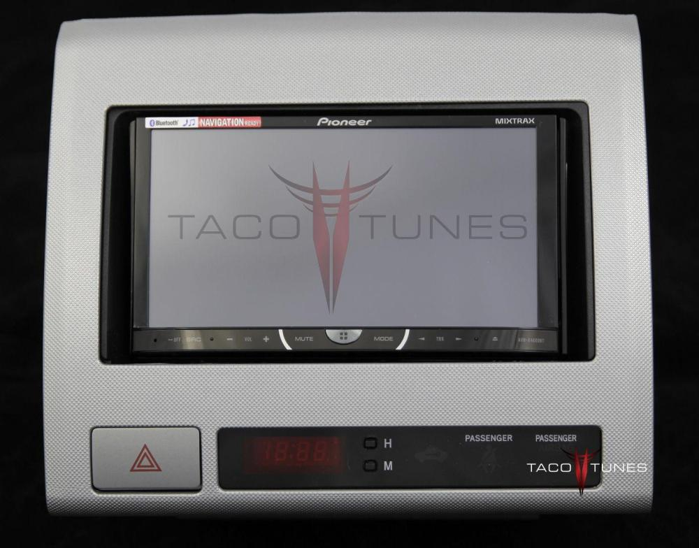 medium resolution of toyota tacoma silver 2005 dash stereo installation kit