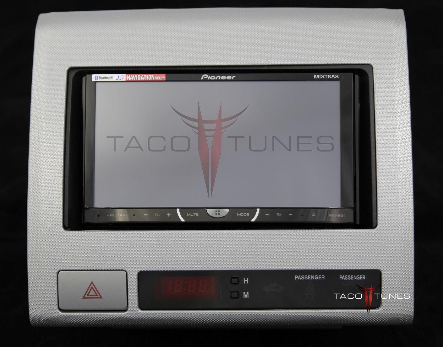 hight resolution of toyota tacoma silver 2005 dash stereo installation kit
