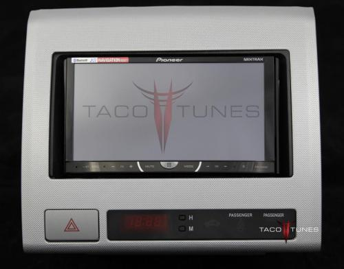 small resolution of toyota tacoma silver 2005 dash stereo installation kit