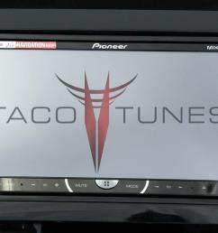 toyota tundra gloss black 2007 dash stereo installation kit [ 1393 x 703 Pixel ]