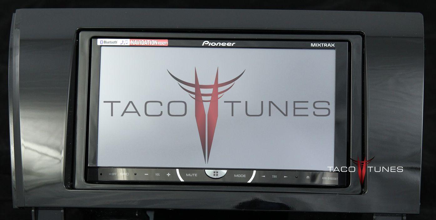 hight resolution of toyota tundra gloss black 2007 dash stereo installation kit