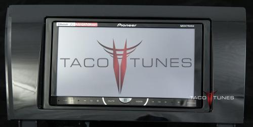 small resolution of toyota tundra gloss black 2007 dash stereo installation kit
