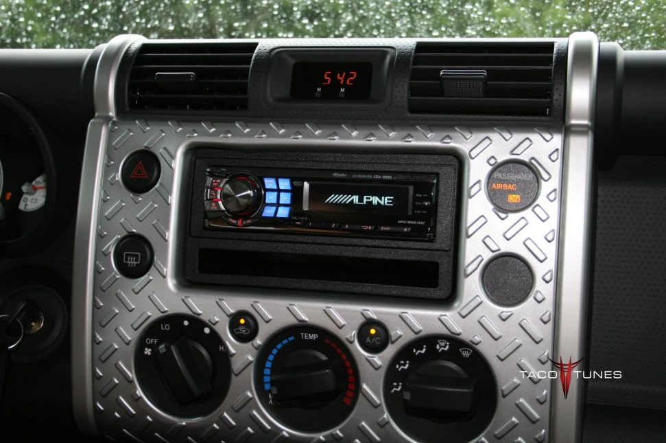 How To Remove Stock Stereo And Install New Aftermarket Head Unit Fj Cruiser