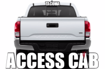 Toyota Tacoma Access Cab X-Runner Audio Products
