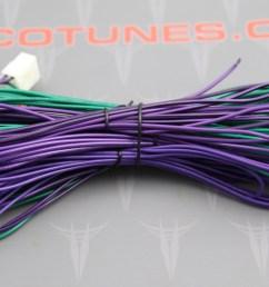 plug play amplifier head unit interface non jbl 6 pin wire harness [ 2059 x 1242 Pixel ]