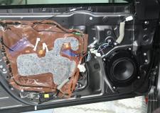 Toyota Camry Front Door Aftermarket Speaker Installation 2012-2017