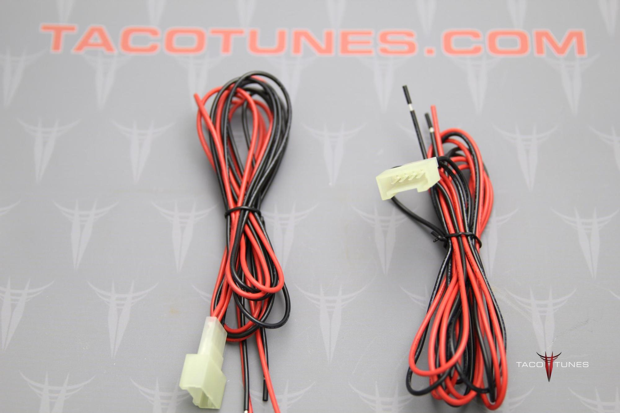 hight resolution of 2016 toyota tacoma tweeter wire harness adapters pair wire harness adapters 7