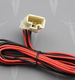 toyota 4runner tweeter wire harness adapter dash speaker replacement [ 1951 x 1417 Pixel ]