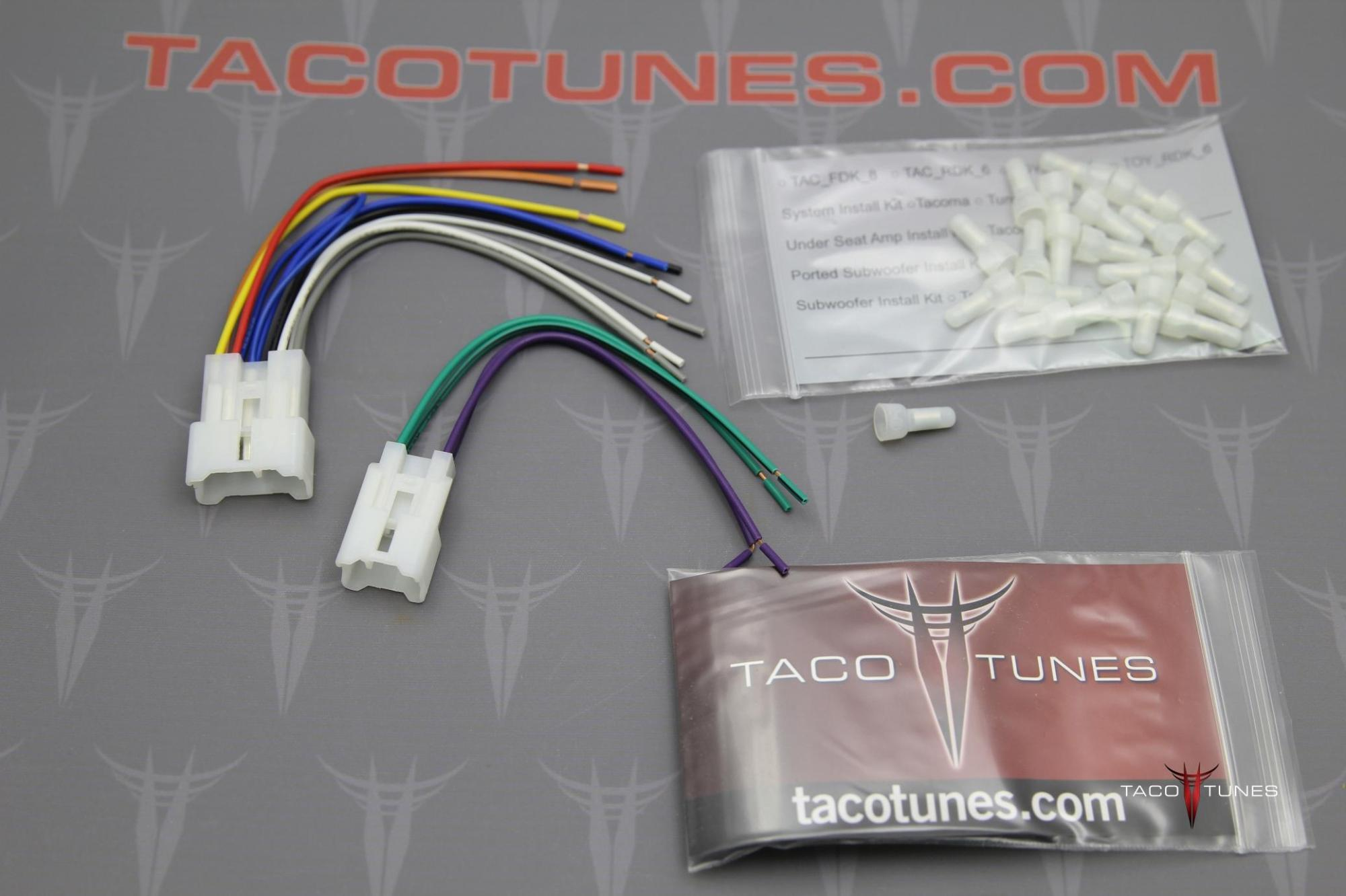 hight resolution of toyota tacoma radio wiring wiring diagram gotoyota pickup aftermarket radio wiring harness wiring diagram used 2018