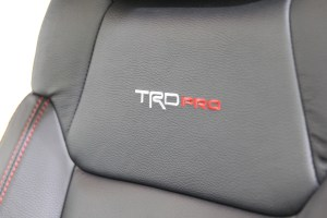 Toyota Tundra TRD Pro Cement Interior Photos