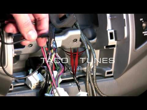 Tundra Oem Radio Wire Diagram How To Install Steering Wheel Controls To Work With New Stereo