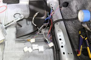 Tundra JBL Harness Repair Process