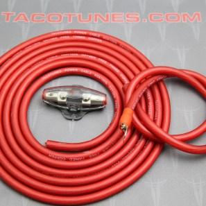 tacotunes.com TXD Amp Kit 4G Power Wire