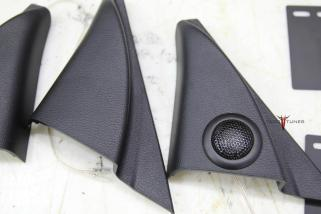 Toyota Tundra CrewMax Sail Panel Tweeter Upgrade - Before & After