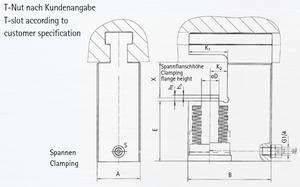 BERG Manual Hydraulic C-clamping Systems