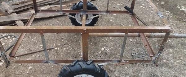 remorca motocultor