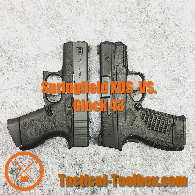 Springfield XDS vs Glock 43 – Is There Any Difference?