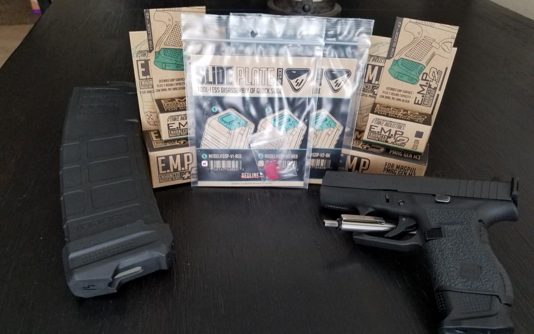 Glock 42 & Glock 43 Strike Industries EMP +2 Mag Extension Review!