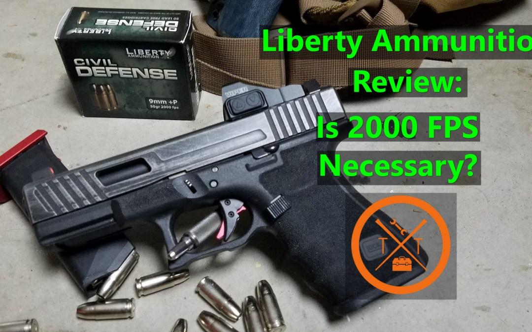 Liberty Ammunition Civil Defense: Best Concealed Carry 9mm?