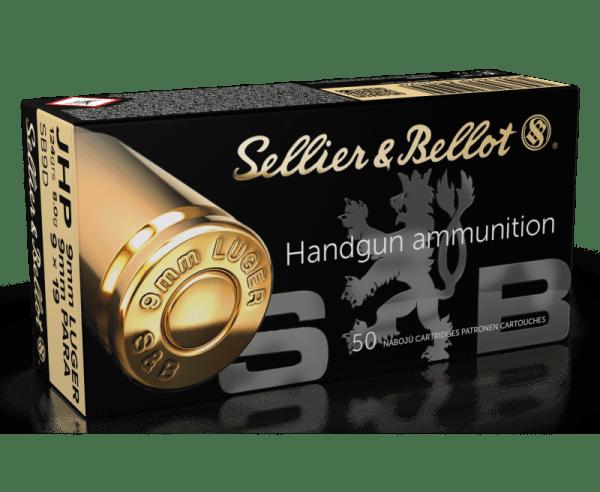 Sellier & Bellot 9MM 124 Grains JHP 50 Rounds