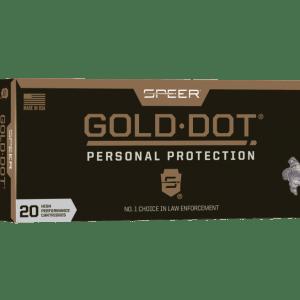 Speer Gold Dot Rifle Ammo Brass .223 Rem 20-Rounds 75 Grain