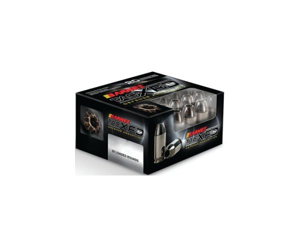 Barnes Bullets TAC-XPD 40SW 140GR HP 20 ROUNDS