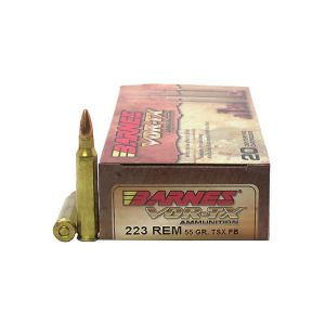 Barnes Bullets 21520 223 55 TSX 20rds