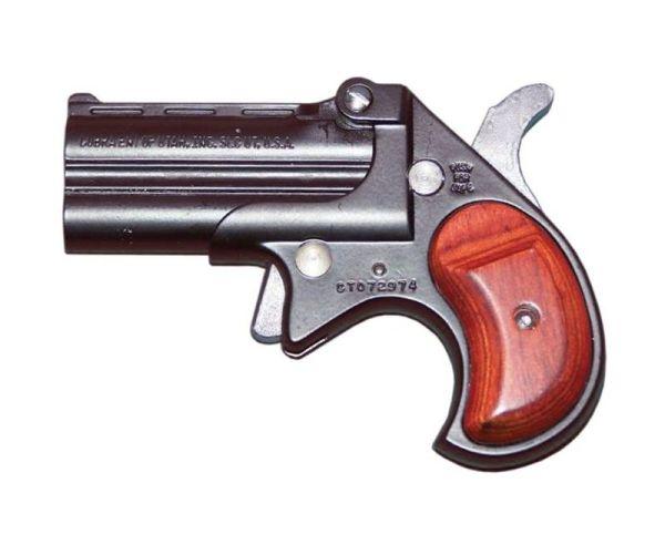 Cobra Firearms Derringer 9mm-Black/Rosewood