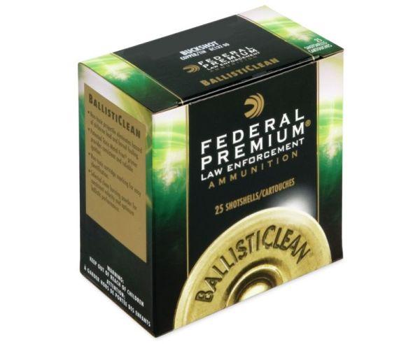 "Federal Premium LE BallistiClean Frangible 12 GA Slug 25 Rounds 2.75"""
